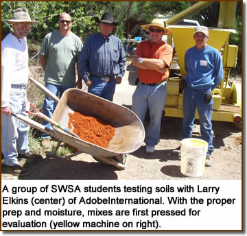Testing soils with Larry Elkins